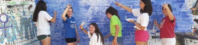 La Brigada Jove de les Garrigues, amb més de setanta joves voluntaris