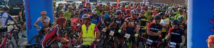 Més de tres-cents ciclistes a la Transplant Bike Almenar
