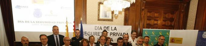 Lleida compta amb vora 550 vigilants de seguretat privada
