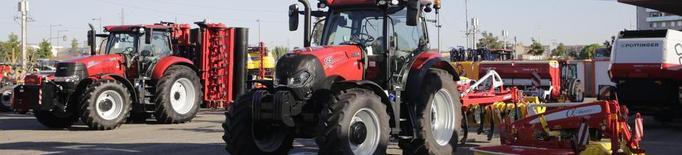 Arriben els 150 tractors que estaran exposats a la Fira de Sant Miquel