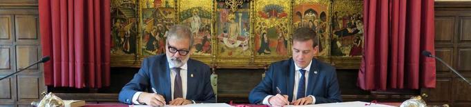 Larrosa advoca per desenvolupar accions conjuntes amb Xàtiva