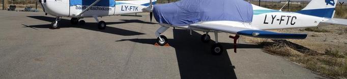 Una firma lituana inicia la formació de trenta-cinc pilots a l'aeroport d'Alguaire