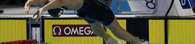 La lleidatana Cristina García acaba setena a la final dels 200 esquena
