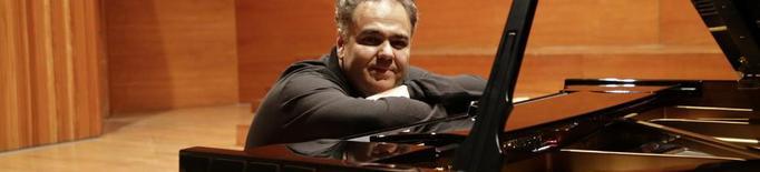 El pianista rus Arcadi Volodos sedueix el públic de l'Auditori