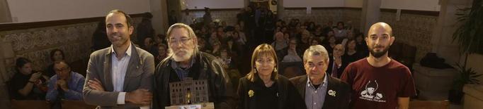 La Baula entrega els premis a la lluita antifeixista