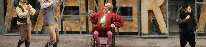 El tenor de Cervera Toni Marsol atansa 'Falstaff' de Verdi a la Llotja