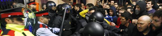 """Els CDR de Lleida veuen """"inadmissible"""" la multa a una persona que va participar en una protesta en suport a Puigdemont"""