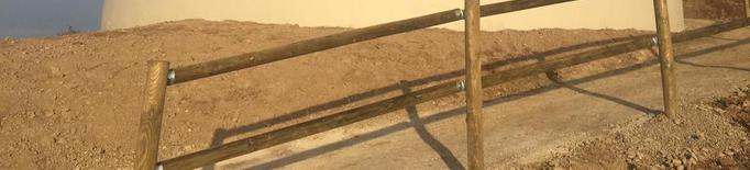 Fraga converteix en un mirador l'antic dipòsit de l'aigua
