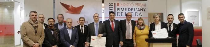 L'empresa de Corbins Biovert S.L., premi Pime de l'Any 2018 a Lleida