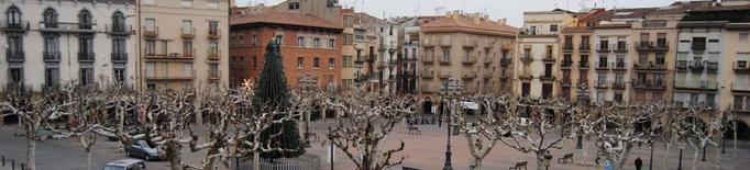 La pista de gel de Balaguer obliga a traslladar el mercat