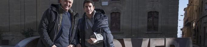 Marc Màrquez rep la visita de Mick Doohan