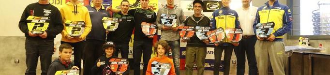 La Copa Rodi de dirt track entrega els premis als campions