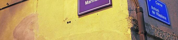El carrer de la Marinada relleva el Marquès de la Ensenada