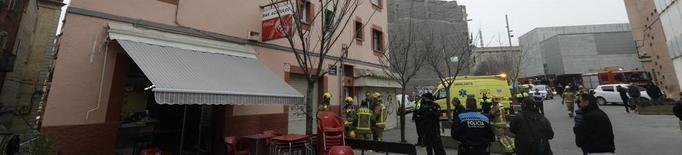 Dos ferits per una explosió de gas en un bar del Centre Històric