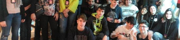 Uns vuitanta joves a l''escape room' del Museu de la Noguera
