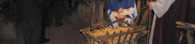 El pessebre vivent de Linyola culmina el vintè aniversari amb 3.500 visitants