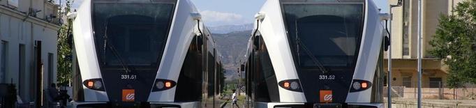 El tren de la Pobla guanya un 6,8% de viatgers i ja depassa els 220.000
