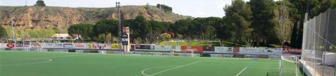 Adjudicada la reforma de la gespa del camp de futbol de Fraga