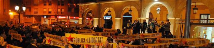 """Mollerussa, un any cantant per """"la llibertat dels presos"""""""