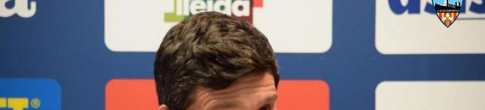 "Albadalejo: ""A mi no em sembla que hagi baixat el suflé del Lleida"""