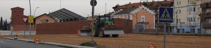 Construeixen a Mollerussa un pàrquing a prop de l'estació de bus amb 45 places