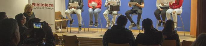 Alumnes de Tàrrega llegeixen obres teatrals de Pedrolo