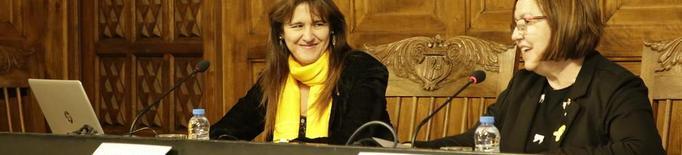 La consellera Borràs repassa 80 anys de cultura catalana