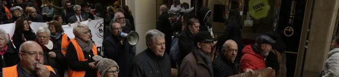 Els pensionistes lleidatans, contra la precarietat i la pobresa energètica