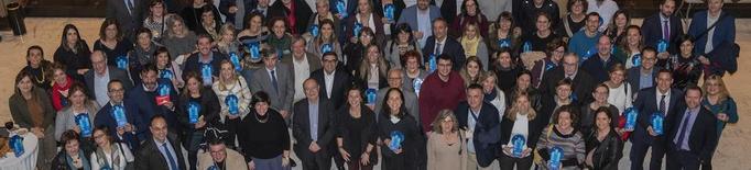 El BBVA premia l'AECC de Lleida, la Fundació Manreana, Aspid i Aspros pels seus projectes