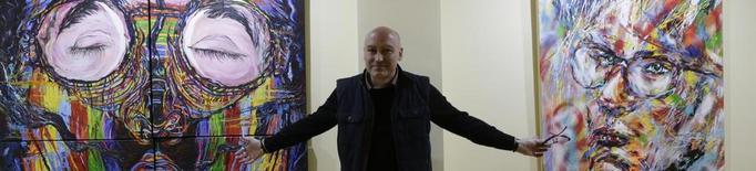 El pop-art de l'artista madrileny Fincias, a la sala Le Petit Atelier