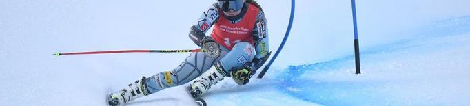 Anna Esteve, primera esquiadora estatal al rànquing mundial