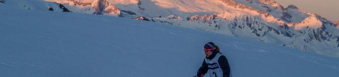 La lleidatana Marta Bosch, segona a la Snow Race