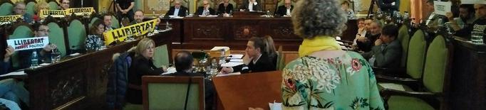 PSC, Cs i PP 'tomben' al ple que la Paeria es pronunciï contra el judici al procés