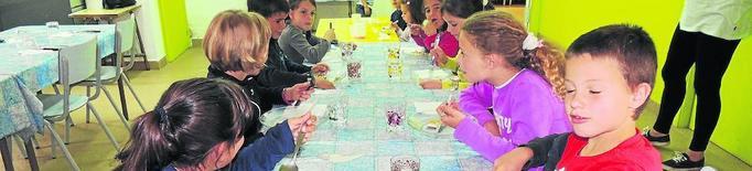 Menjador escolar amb més aliments de la Ribagorça