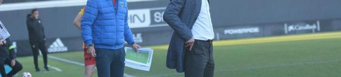 Oliva firma el millor inici d'un tècnic del Lleida Esportiu