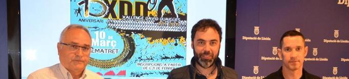 La Xallenge David Duaigües, camí de batre el seu rècord