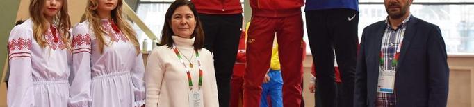 El lleidatà Monné, or a Minsk amb Espanya