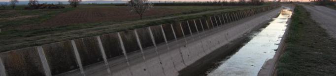 El Canal d'Urgell obre la campanya de regadius