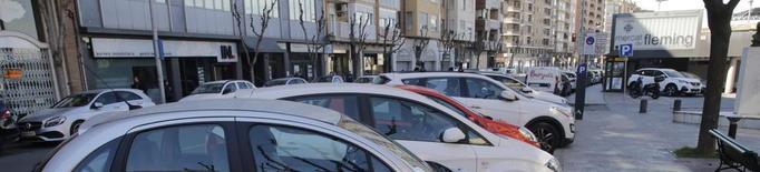 El carril bici a Fleming eliminarà aparcaments