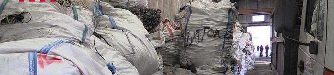 Arresten sis persones per robar cable a la Segarra