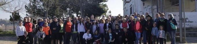Campanya de la flor amb concert a Serrat a Aitona i caminada a l'Horta