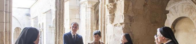 Vallbona acabarà a la tardor la restauració de l'edifici