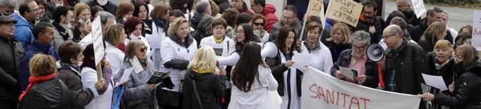 La vaga a l'hospital Santa Maria de Lleida s'ajorna al mes de juny per poder negociar