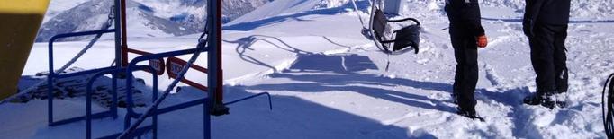El fred i la neu deixen les pistes en les millors condicions per a Pasqua