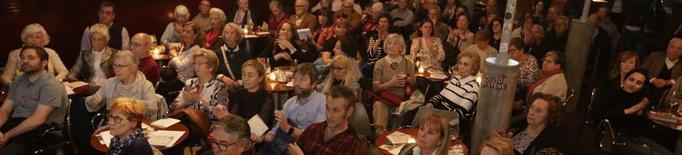 Homenatge a la difunta Dolors Sistac al Cafè del Teatre