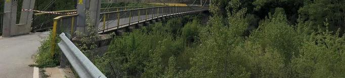 Oliana i Peramola volen més seguretat al pont que uneix tots dos pobles