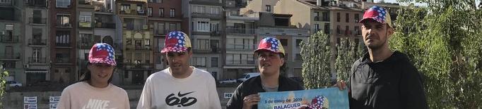 Posa't la Gorra  a Balaguer amb 4.000 participants