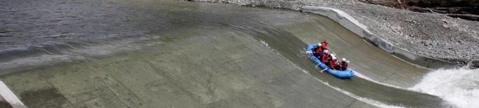 Desert el concurs per prolongar el tram navegable de la Pallaresa