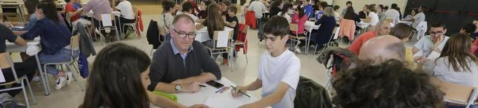 Concurs de matemàtiques en família a l'institut La Mitjana