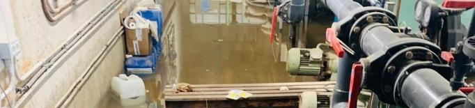 Balaguer tanca la piscina coberta a l'inundar-se la sala de bombes per avaria